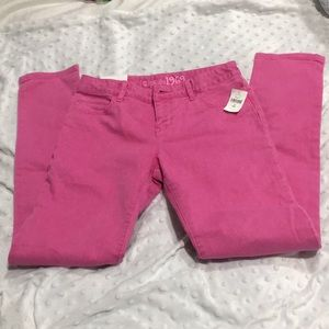 NWT Hot pink GAP jeans size 10